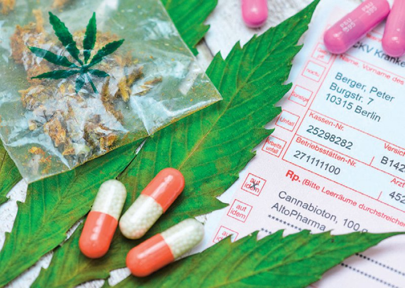 Medizinisches Cannabis kann von Ärzten seit März 2017 für schwer kranke Patienten verschrieben werden. Foto: picture alliance