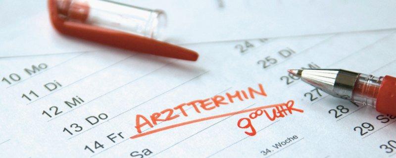 Die Termintreue von Patienten ist erneut Grund für eine politische Debatte. Foto: artivista werbeatelier/stock.adobe.com