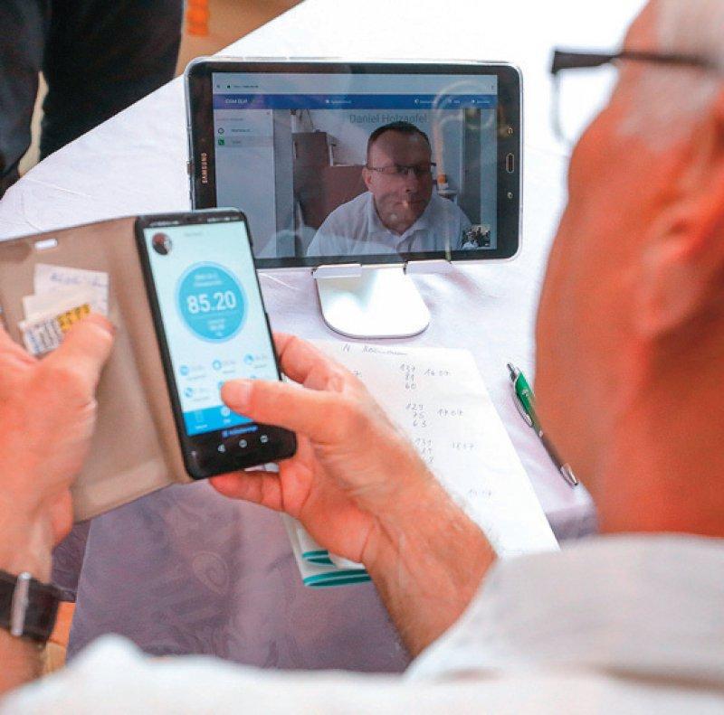Insbesondere der Aufbau der Infrastruktur für Telekonsile und für Videosprechstunden wird durch das Förderprogramm unterstützt. Foto: picture alliance/Jan Woitas/dpa-Zentralbild/dpa