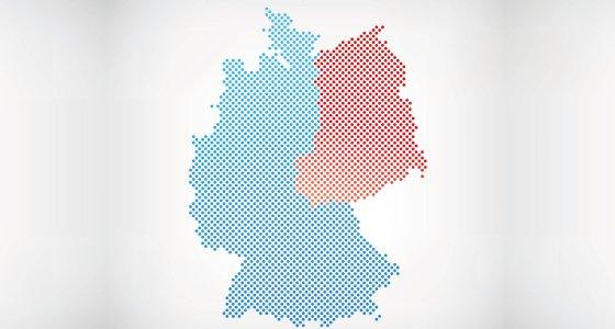 Geteiltes Deutschland: 1949 bis zur Wiedervereinigung im Jahr 1990 /mucft stock.adobe.com