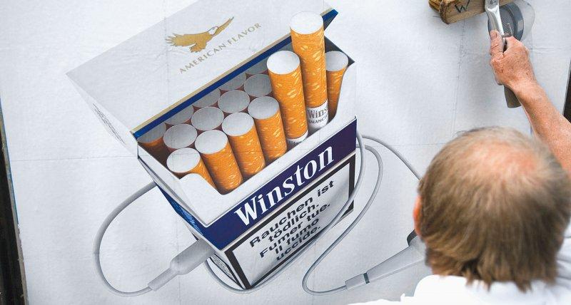 Rauchen: Union für gestaffelte Werbeverbote mit Ausnahmen