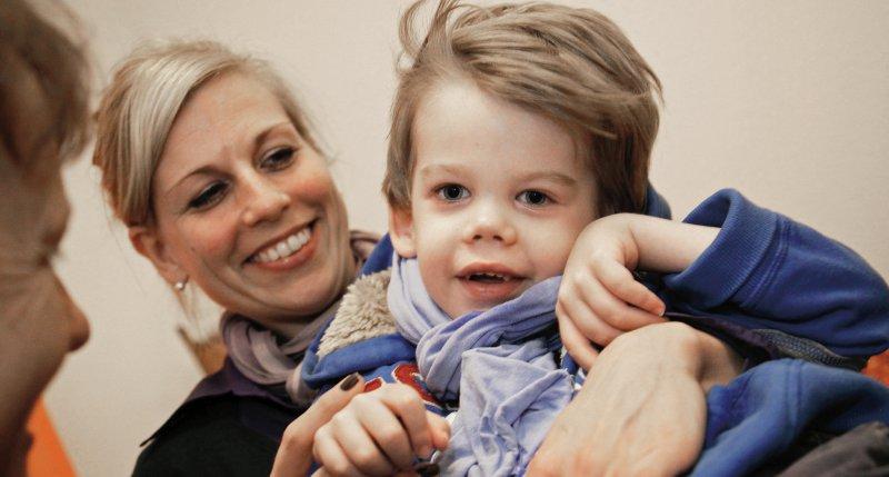 Durch die Nähe zu den Eltern können kranke Kinder das Kinderhospiz als einen sicheren Ort wahrnehmen. Foto: Kinder- und Jugendhospiz Bethel