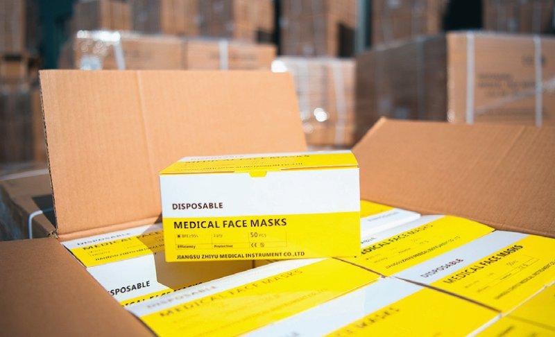 Schutzmasken sollen verstärkt auch in Deutschland produziert werden. Foto: picture alliance/Soeren Stache/dpa