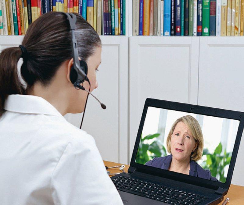 Auch neue Patientinnen und Patienten können nun von telemedizinischen Angeboten profitieren. Foto: agenturfotografin/stock.adobe.com