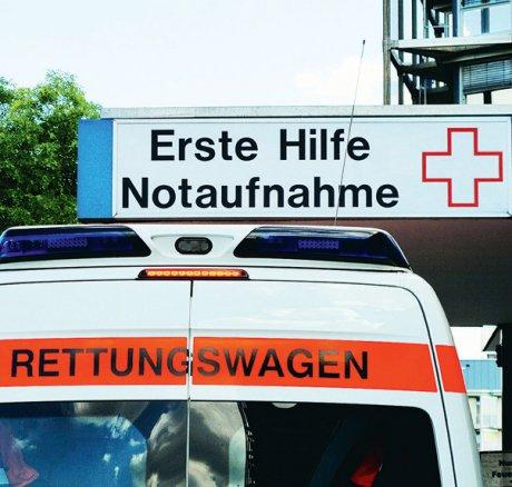 Zuweisungen von Notfallpatienten an abgemeldete...