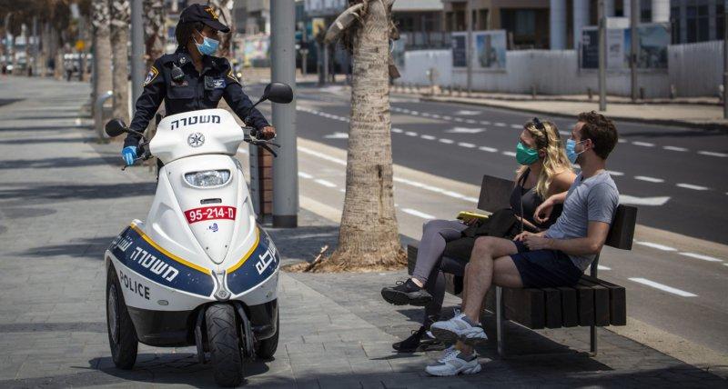 Neue Ausgangsbeschränkungen in Israel