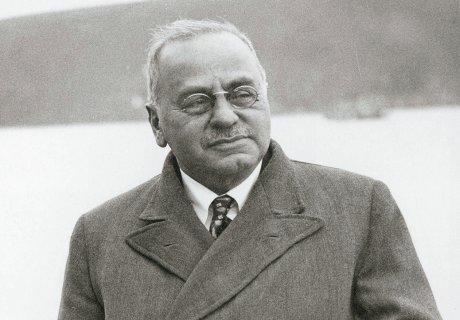 Alfred Adler im Jahre 1936