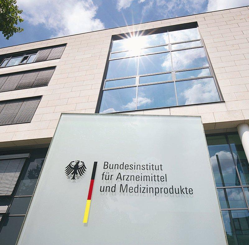 Das Bundesinstitut für Arzneimittel und Medizinprodukte ist dem Bundesministerium für Gesundheit unterstellt. Foto: picture alliance/Ulrich Baumgarten