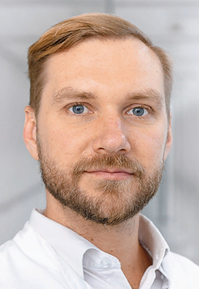 Jan-Henning Klusmann, Foto: Zentrale Fotostelle UKH