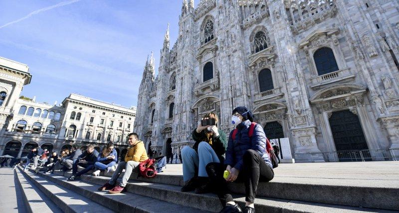 Rapider Anstieg von Covid-19-Erkrankungen in Italien