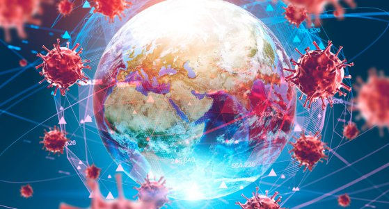 Coronaviren verbreiten sich rund um den Globus. /denisismagilov, stock.adobe.com