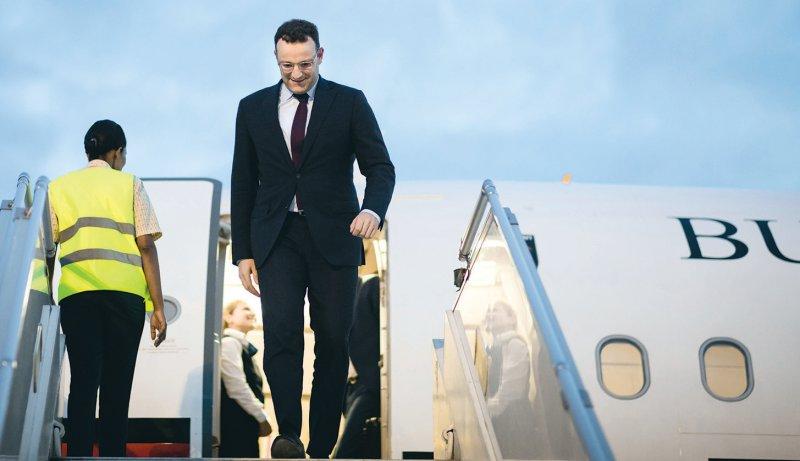 International unterwegs: Bundesgesundheitsminister Jens Spahn (CDU) reist auch nach Mexiko, um Pflegekräfte anzuwerben.