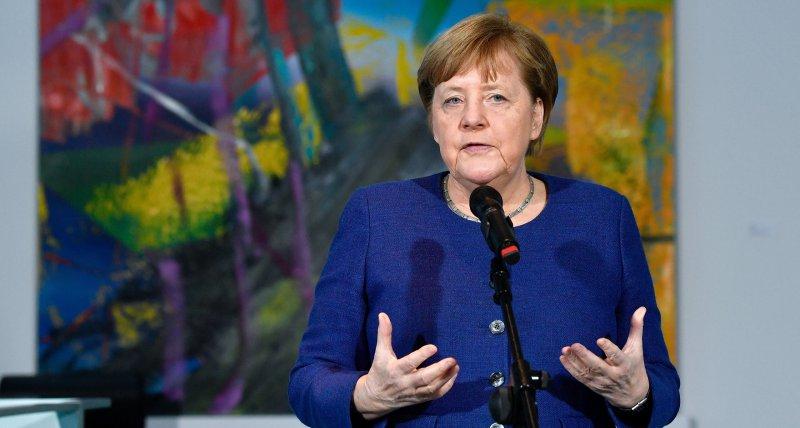 """Merkel sieht Anlass zu """"ein wenig Hoffnung"""" in Coronakrise"""