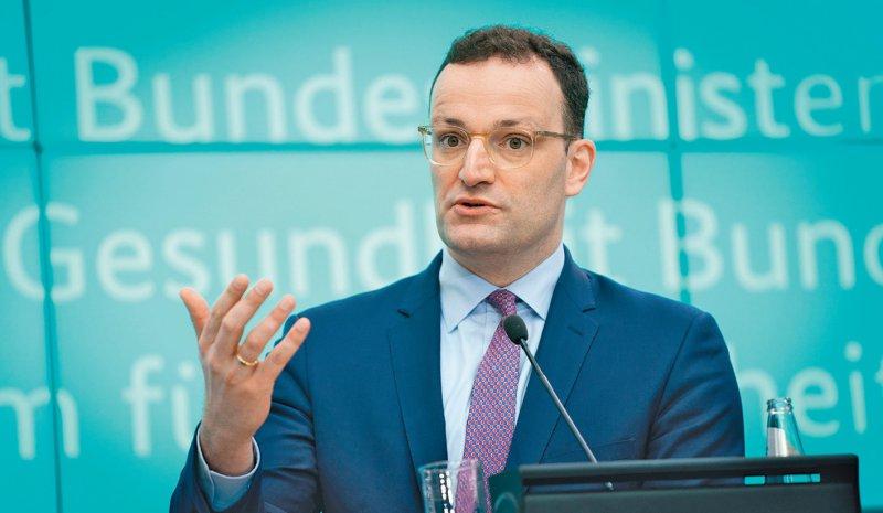 Bundesminister Jens Spahn will mehr Zugriffsrechte für den Bund. Foto: picture alliance/Kay Nietfeld/dpa