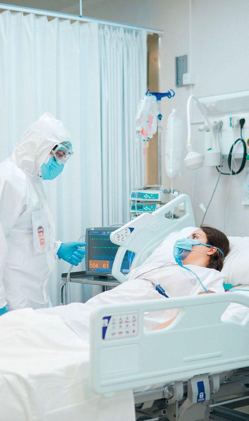 In den Intensivstationen steigt die Zahl der COVID-19- Patienten wieder an. Foto: Tempura/iStock