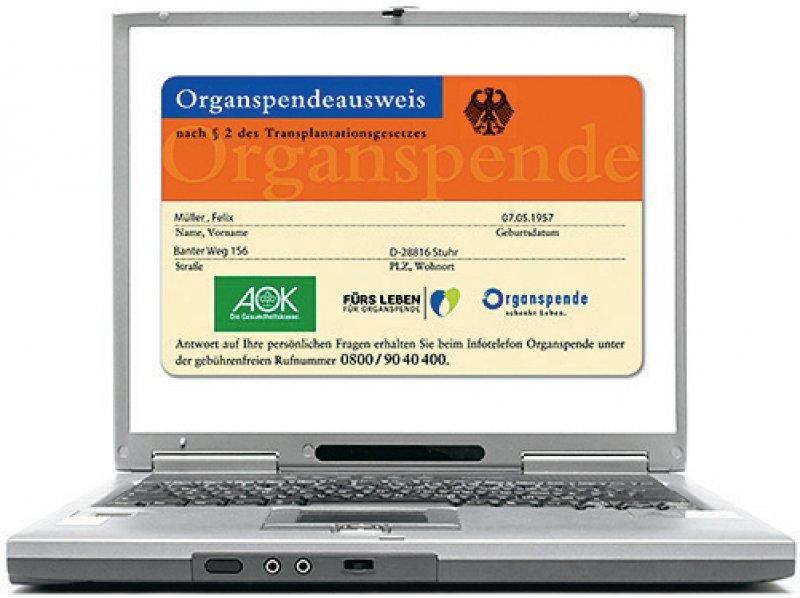 Ein Organspenderegister war im vergangenen Jahr im Bundestag beschlossen worden. Foto: picture alliance/Bildagentur-online/McPhoto