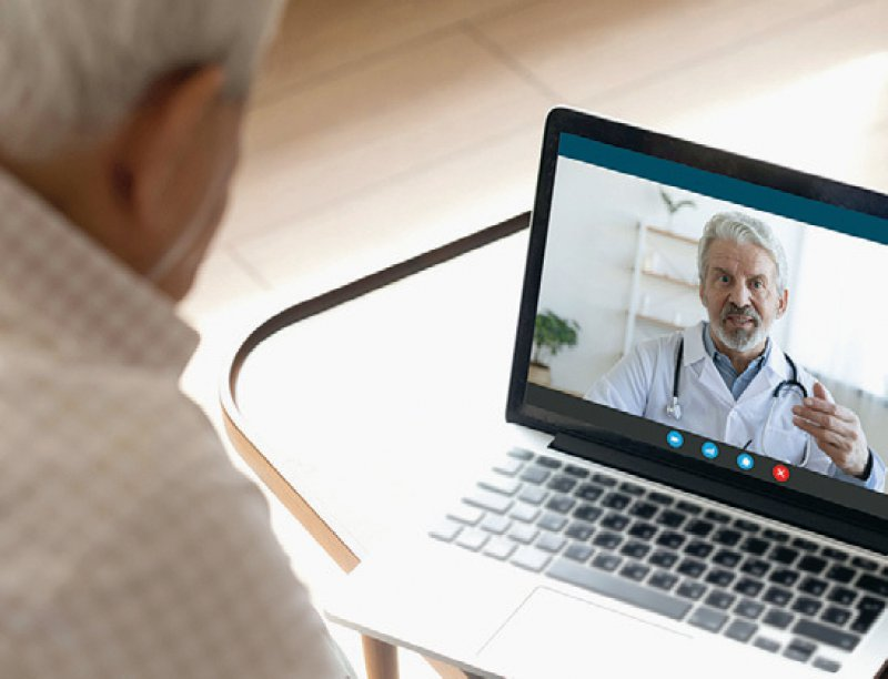 Mehr als 30 000 Praxen haben im zweiten Quartal 2020 eine Videosprechstunde angeboten. Foto: fizkes/iStock