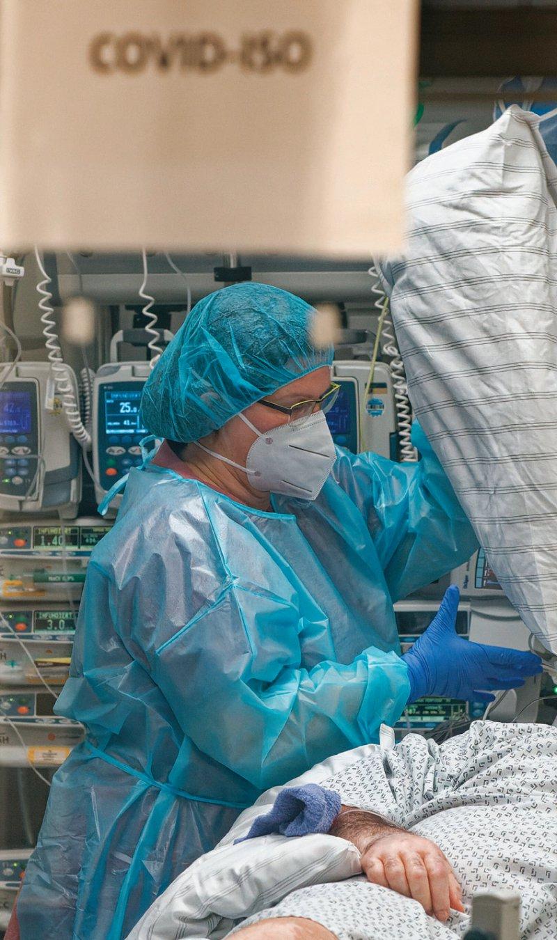 Während der Coronapandemie erhalten viele Krankenhäuser Ausgleichszahlungen vom Staat. Foto: picture alliance/dpa Henning Kaiser