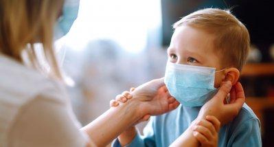 Studie: Masken stören Kleinkinder nicht bei der Atmung