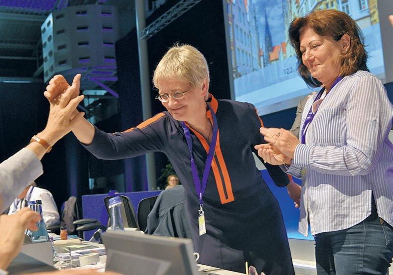 Erfolgreich: Der 122. Deutsche Ärztetag in Münster wählte Gitter 2019 zur Vizepräsidentin der Bundesärztekammer. Foto: Jürgen Gebhardt