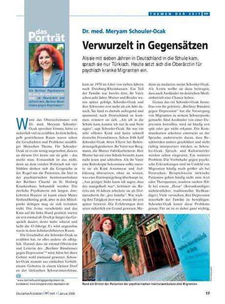 Dr. med. Meryam Schouler-Ocak