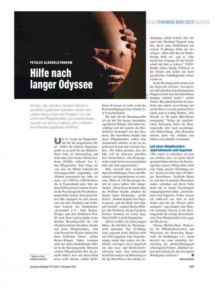 Fetales Alkoholsyndrom: Hilfe nach langer Odyssee