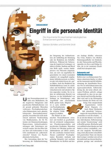 Enhancement: Eingriff in die personale Identität