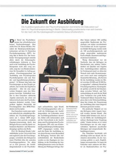 14. Deutscher Psychotherapeutentag