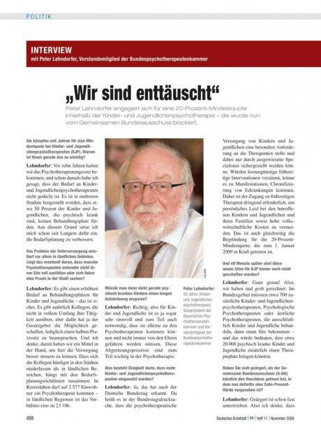 Interview mit Peter Lehndorfer,...