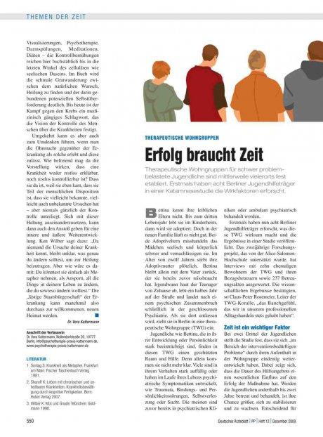 Therapeutische Wohngruppen: Erfolg braucht Zeit