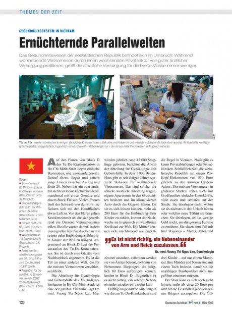 Gesundheitssystem in Vietnam