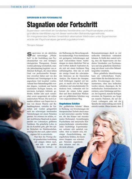 Supervision in der Psychoanalyse