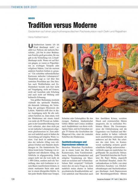 Indien: Tradition versus Moderne