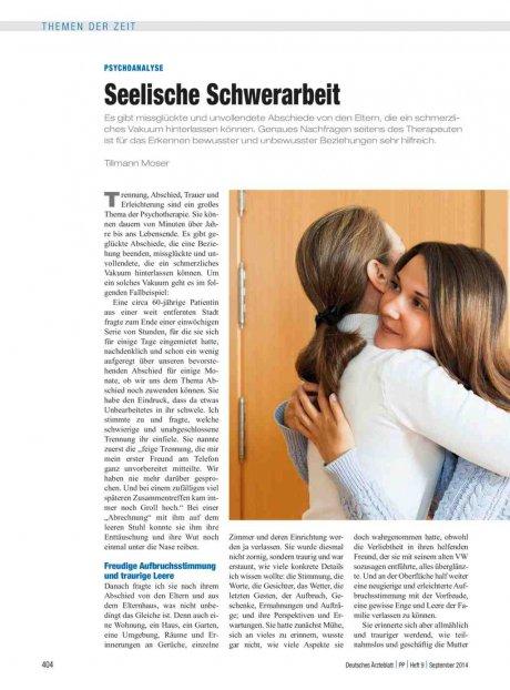 Psychoanalyse: Seelische Schwerarbeit