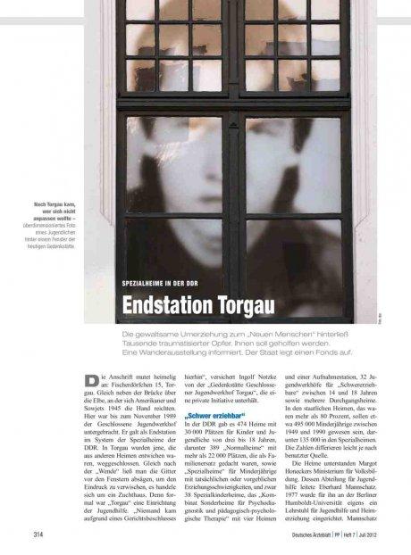 Spezialheime in der DDR: Endstation Torgau