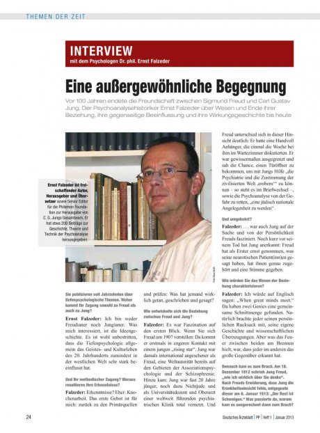 Interview mit dem Psychologen Dr. phil. Ernst...