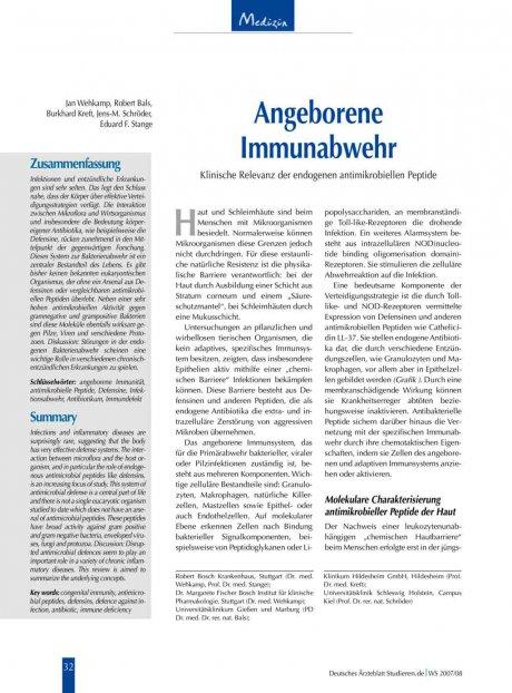 Angeborene Immunabwehr