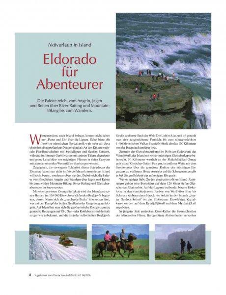 Aktivurlaub in Island: Eldorado für Abenteurer