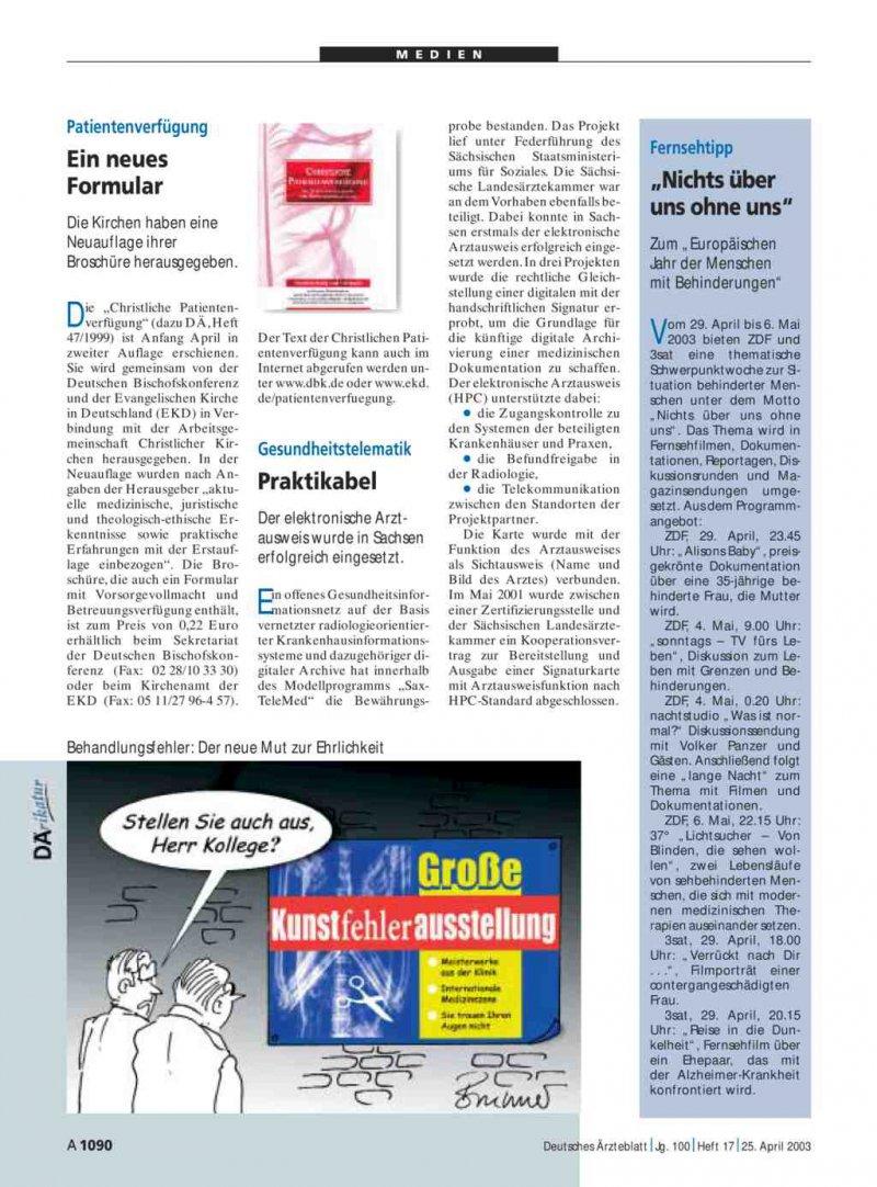broschüre patientenverfügung