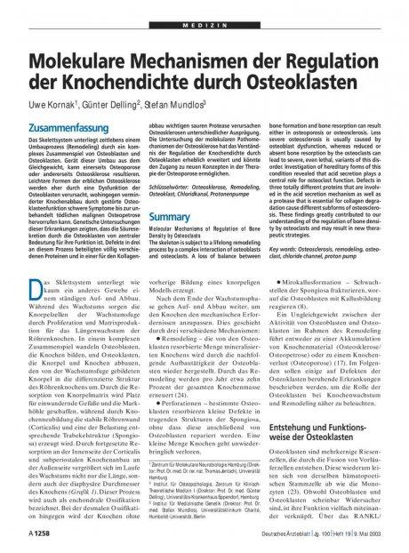 Molekulare Mechanismen der Regulation der...