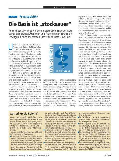 """Praxisgebühr: Die Basis ist """"stocksauer"""" (Folge 4)"""