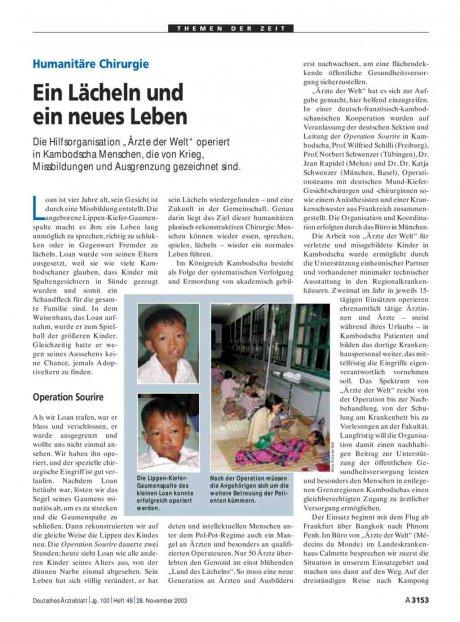 Humanitäre Chirurgie