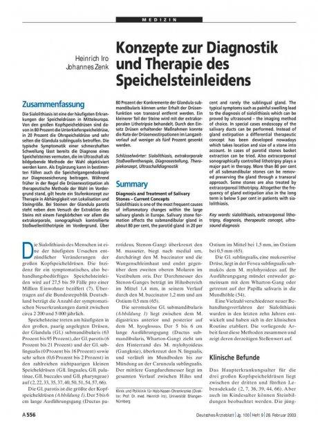 Konzepte zur Diagnostik und Therapie des...