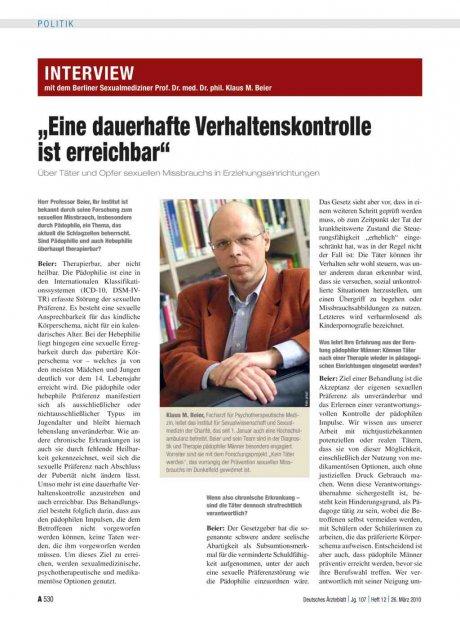 Interview mit dem Berliner Sexualmediziner Prof....