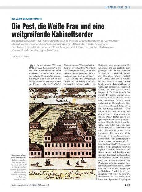 300 Jahre Berliner Charité