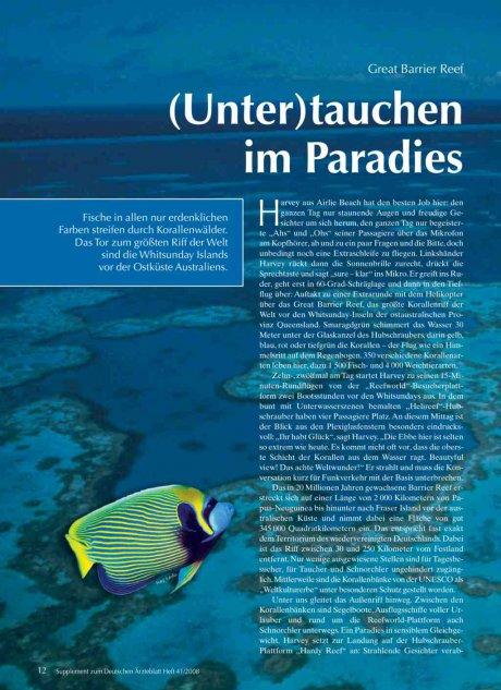 Great Barrier Reef: (Unter)tauchen im Paradies