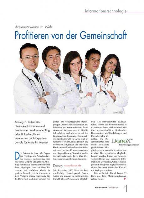 Ärztenetzwerke im Web
