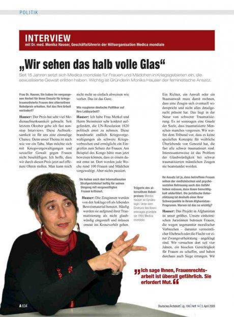 Interview mit Dr. med. Monika Hauser,...