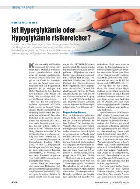 Diabetes mellitus Typ II