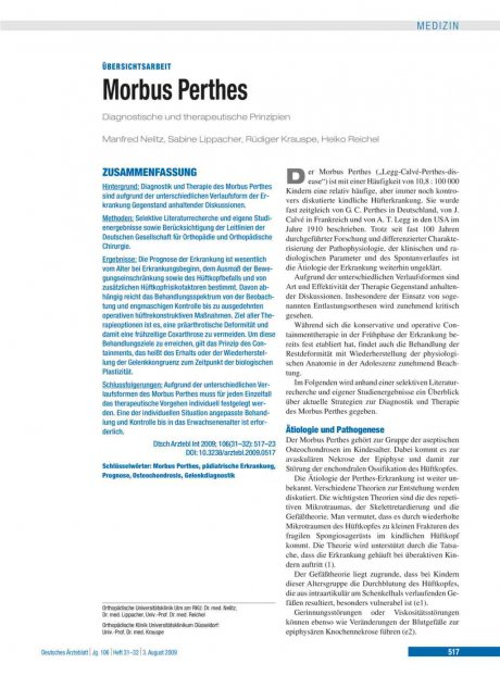 Morbus Perthes
